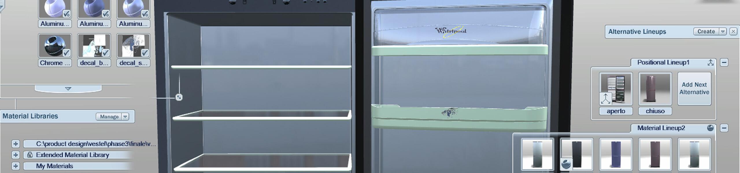 Refridgerator design