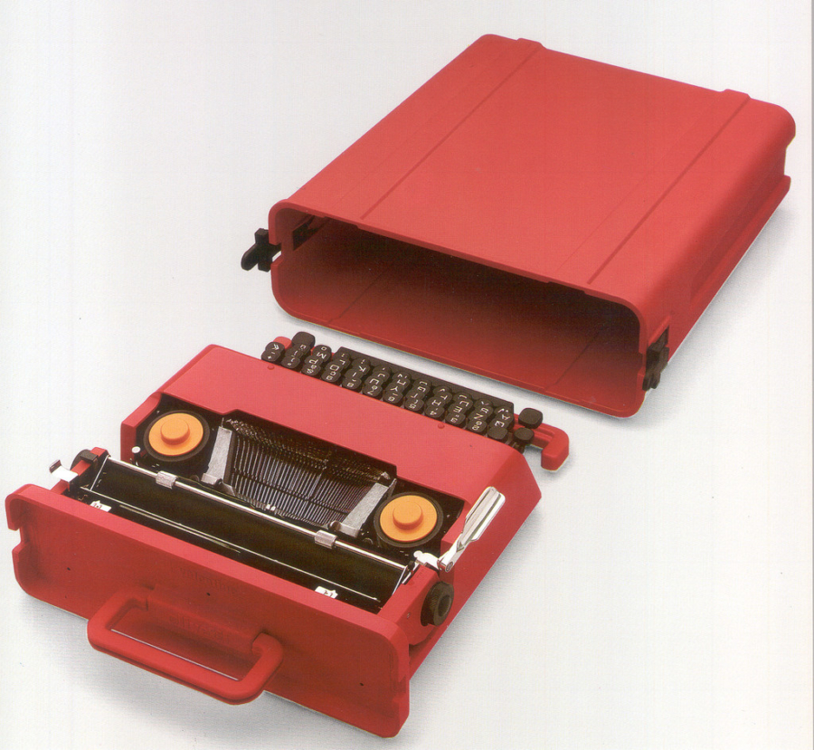 Industrial Design Guide - VALENTINE typewriter