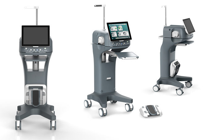 Case Study: BVI/Optikon Industrial Design Settore Medico