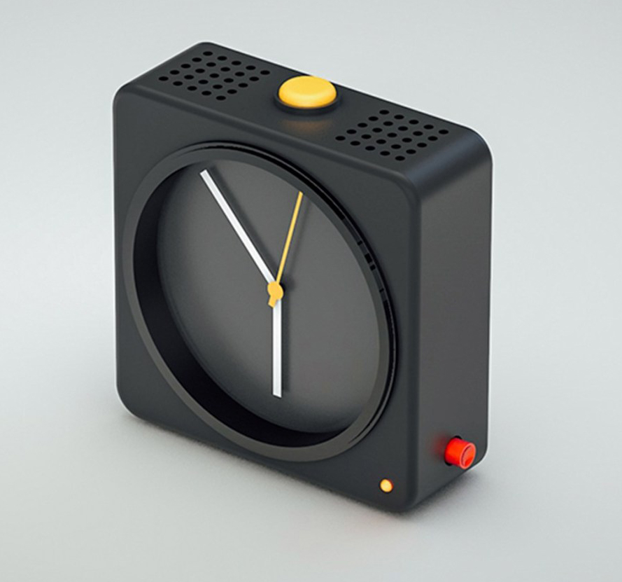 Industrial Design Guide - BRAUN alarm clock